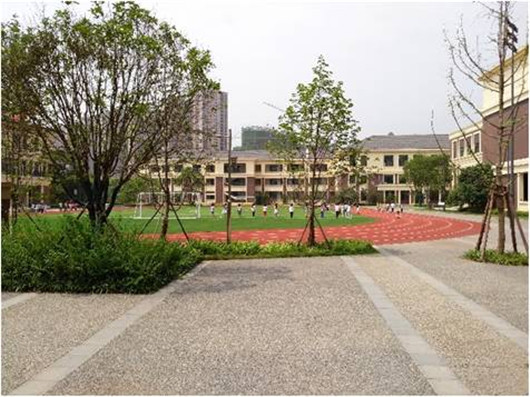 枫树山中航城小学景观设计
